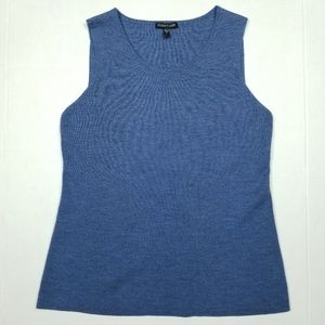 Eileen Fisher Merino Wool Knit Tank Small